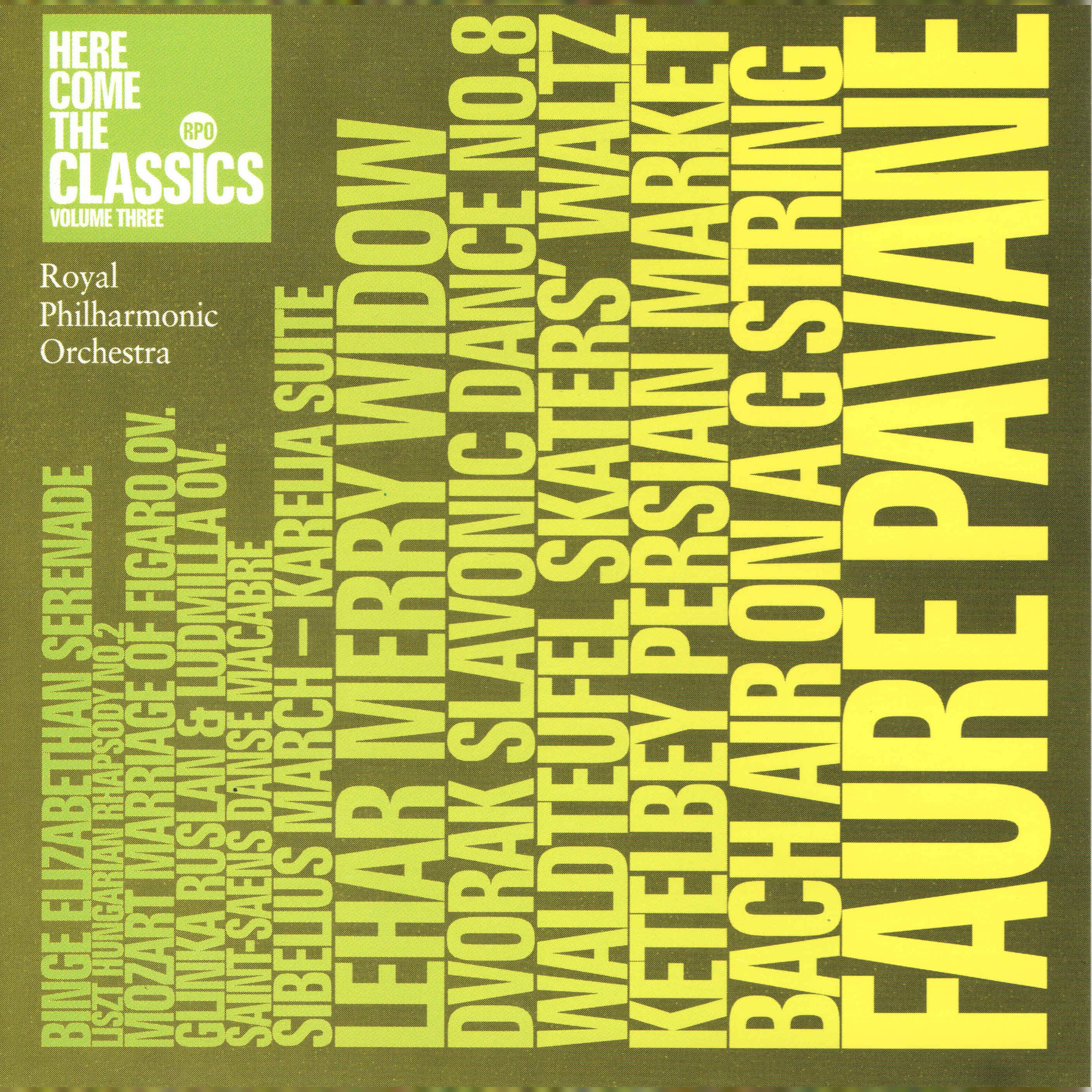 Royal Philharmonic Orchestra 'Here Come The Classics Vol 3' CD/2003/Classic/Россия