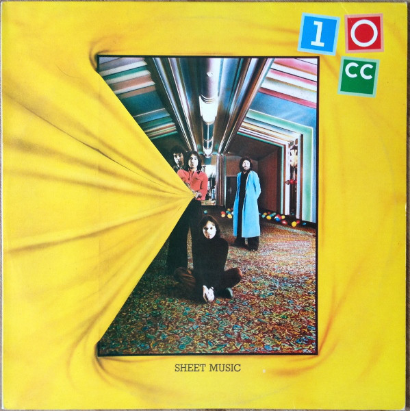 10cc 'Sheet Music' CD/1974/Rock/France