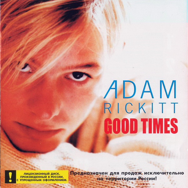 Adam Rickitt 'Good Times' CD/1999/Pop/Russia