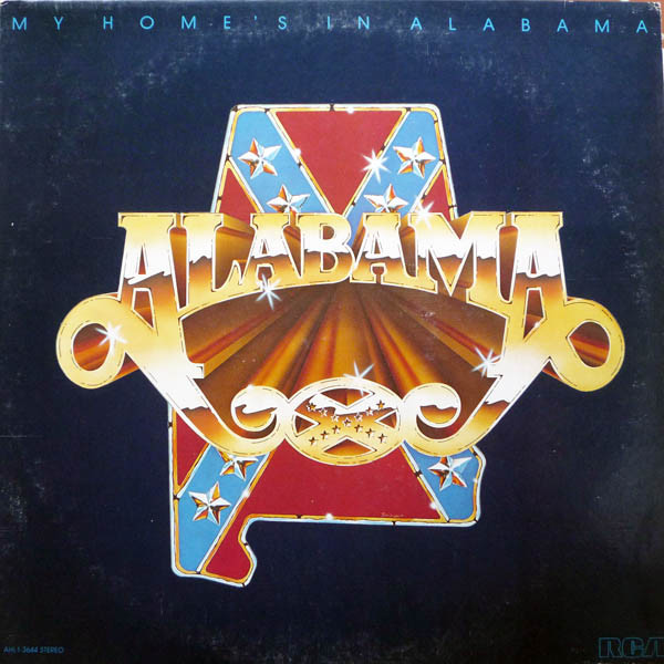 Alabama 'My Home's In Alabama' CD/1980/Rock/USA