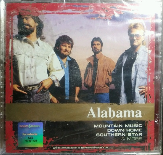 Alabama 'Collection' CD/2006/Rock/Россия