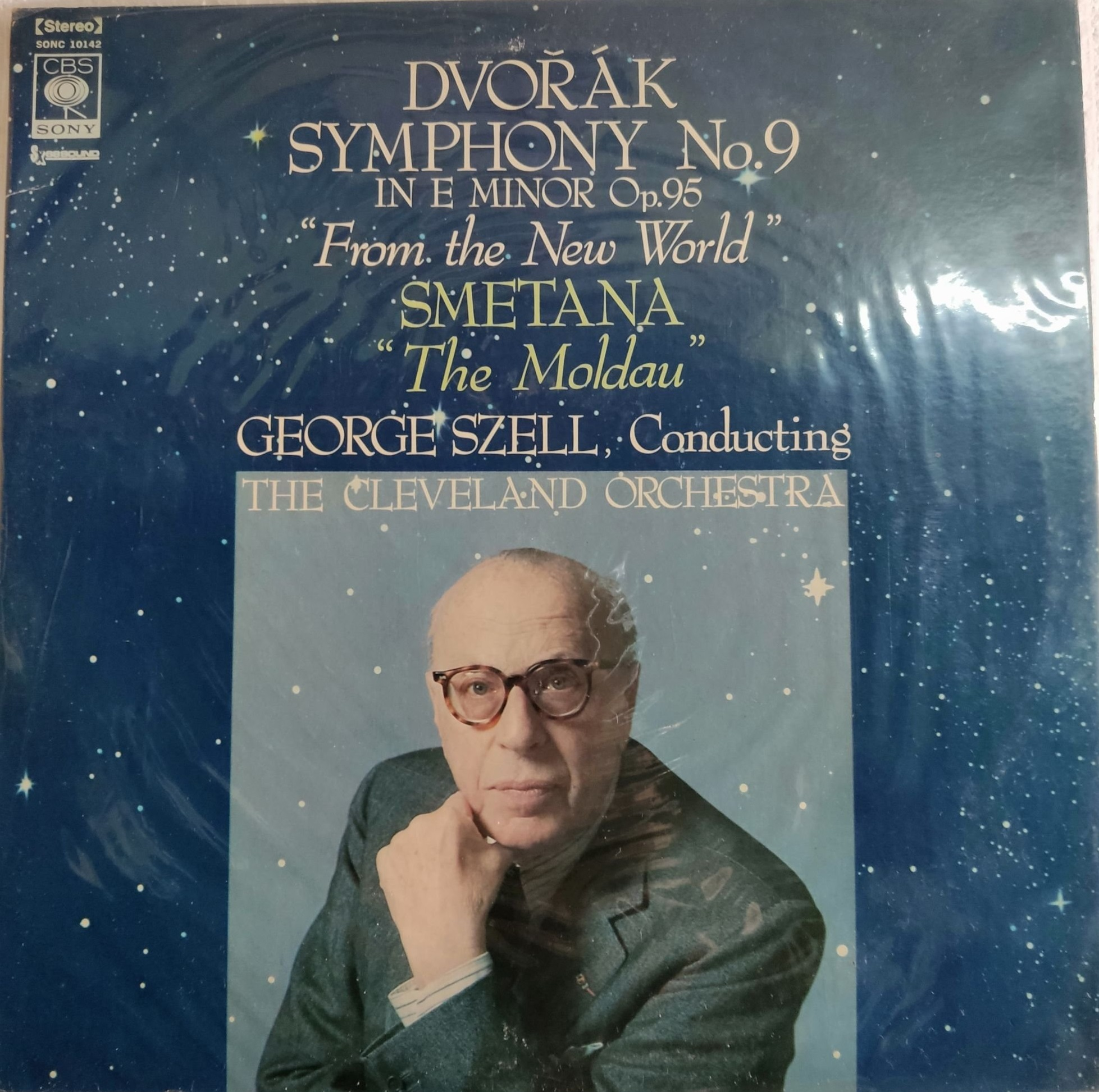Antonin Dvorak 'George Szell Conducting'Symphonies N 9'From The New World' LP2/2001/Classic/Japan/Nm