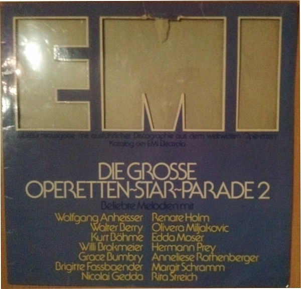 Die Grose Opern Star Parade 2' LP/Classica/Germany/Nmint
