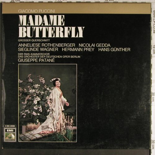 Giacomo Puccini 'Madame Butterfly Querschnitt' LP/Classica/Germany/Nmint