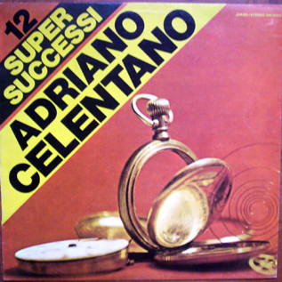 Adriano Celentano '12 Supersuccessi' LP/1973/Pop/Italy/Ex