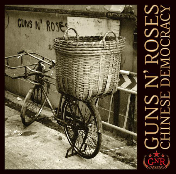 Guns n' Roses 'Chinese Democracy' LP2/2008/Rock/EU/Sealed