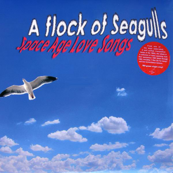 A Flock Of Seagulls 'Space Age Love Songs / I Ran: The Best Of' LP/2004/2008/Pop/EU/Sealed